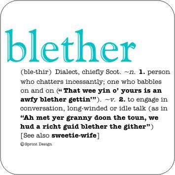 Blether coaster