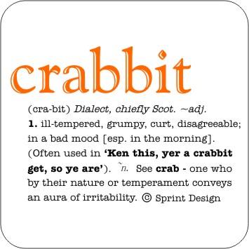Crabbit coaster